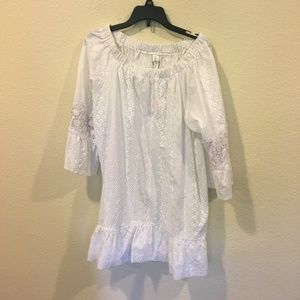 Chicwish Dresses - NWT Chicwish white off the shoulder dress
